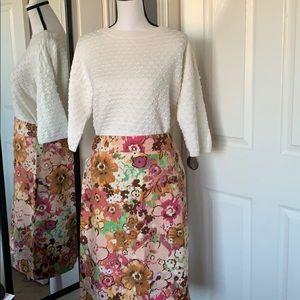 ⬇️REDUCED! J.Crew floral pencil skirt